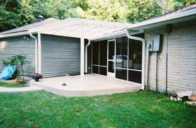 Patio with Screen